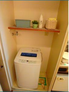 室内洗濯機置場☆(モデルルーム)