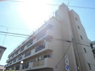 東洋シーサイドハイム、地元に愛されたマンション。しっかり建物は管理されています。