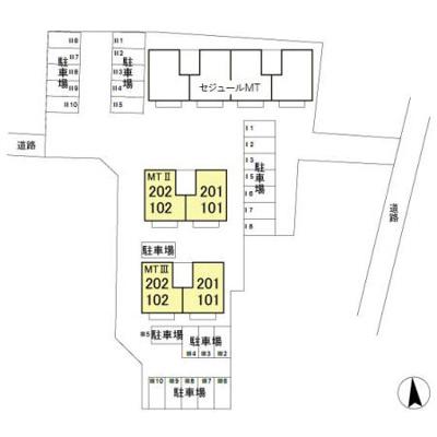 【区画図】セジュールMT