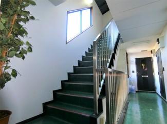 安心の内階段