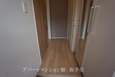 【玄関】ラ・グラシューズⅡ