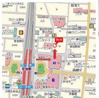 【地図】石川ビル