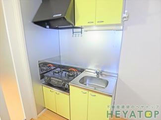 ガスコンロ設置可キッチン