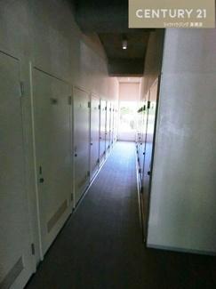1階部分にあるトランクルームです。