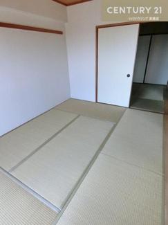 和室のお部屋は2部屋。 それぞれ約6畳と約4.5畳の大きさです。
