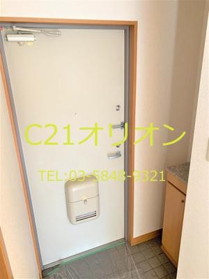 【玄関】サンライズ・モリタビル
