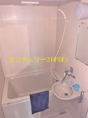 3点ユニットタイプのバスルームです。