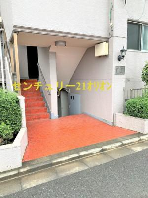 【エントランス】キャニオンマンション上鷺宮