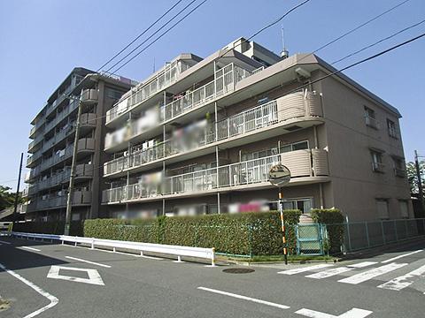 【外観】竹の塚マンション