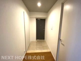 スッキリとした玄関です♪壁面氏はシューズBOXがございます!!