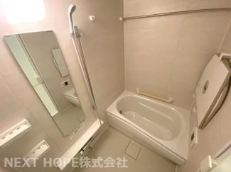 浴室です♪一日の疲れを癒してくれます!浴室乾燥機付きで雨の日のお洗濯物も困りませんね(^^)