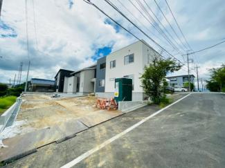 【前面道路含む現地写真】伊豆の国市吉田 新築戸建 C号棟