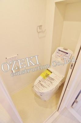 【トイレ】越谷シティハウス7号棟
