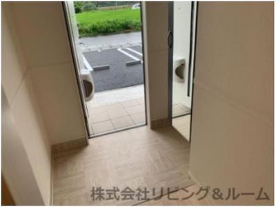 【玄関】ピュアグレースⅡ