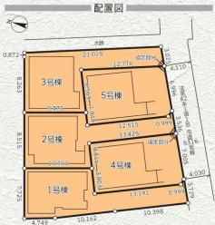【区画図】茅ヶ崎市今宿1期 新築戸建 全5棟5号棟