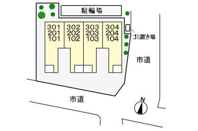 【区画図】メゾンステラ