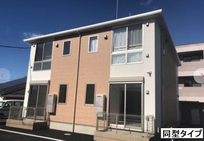 【外観】(仮称)西旭ヶ丘賃貸アパート新築工事
