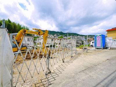 【周辺】(仮称)西旭ヶ丘賃貸アパート新築工事