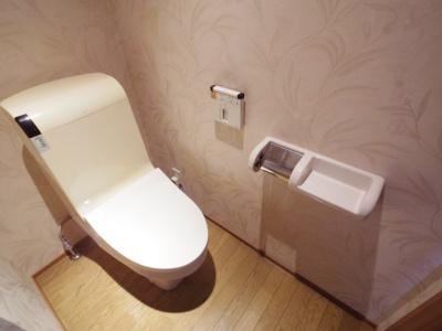 【参考写真】温水洗浄暖房便座もついてます