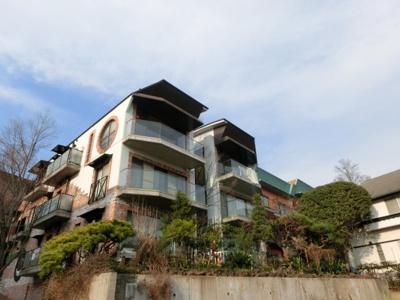石神井公園のほとりに建つデザイナーズマンション