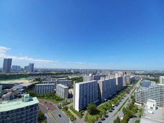 セザール検見川浜 天候が良い日には東京タワーとスカイツリーが一望できます!