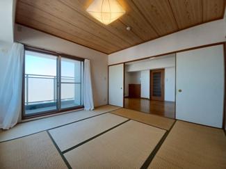 セザール検見川浜 約9帖の広々とした和室です!