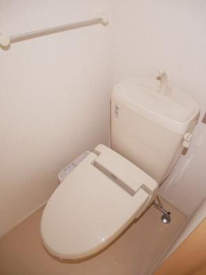 【トイレ】セキュレイト ハウス花園A