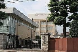 本庄東高等学校まで350m