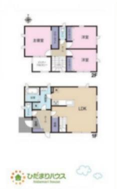 全居室収納付きで各居室の住環境もスッキリ使えます♪