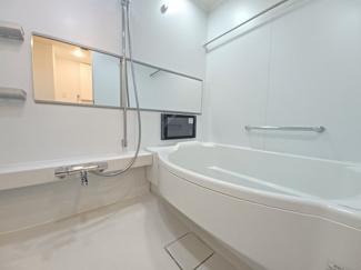 ファーストシーン津田沼 浴室にはTVが設置されております!