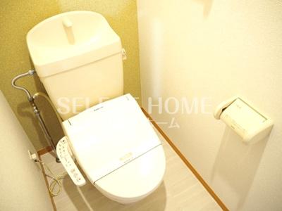 トイレもきれいです 同型タイプです
