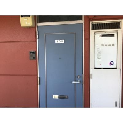 【玄関】アルムコーポ2号館