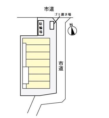 【区画図】サニーフラットⅡ