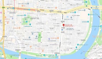 【地図】センティ天満橋
