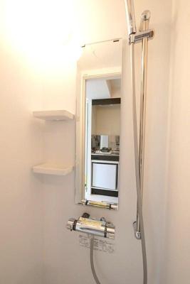 ハーモニーテラス町屋Ⅴのさっと体を洗えるシャワールーム付です