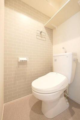 ハーモニーテラス町屋Ⅴのシンプルで使いやすいトイレです☆