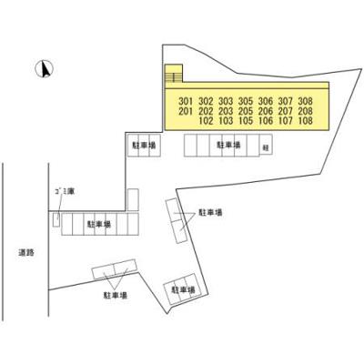 【区画図】コンフォールパピヨン