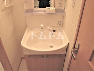 基本ですね室内洗濯機置き場