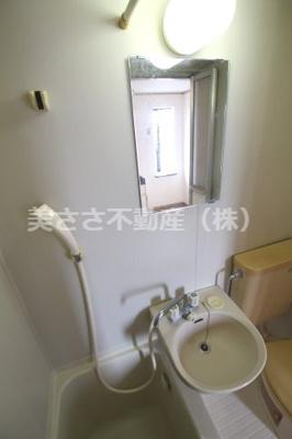【浴室】ドウエルオカベ