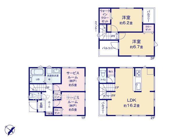 浦和区神明1丁目25-28(4号棟)新築一戸建てミラスモ