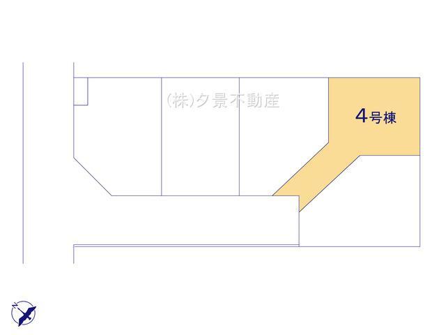 【区画図】浦和区神明1丁目25-28(4号棟)新築一戸建てミラスモ