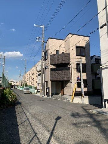 【前面道路含む現地写真】東灘区森北町1丁目未使用戸建B号地