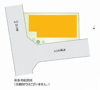 【区画図】杉並区方南2丁目 新築戸建