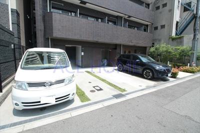 【駐車場】プレサンス難波フィネスト