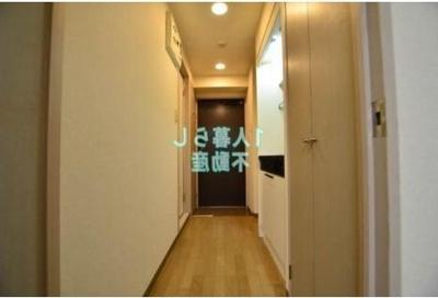 お部屋から玄関