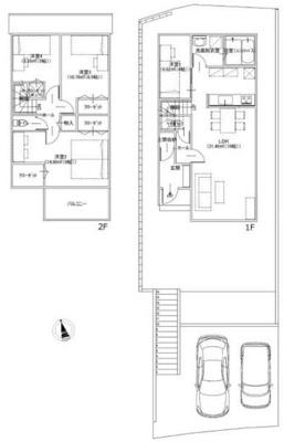 【参考プラン】鎌倉市梶原3丁目 売地 B区画