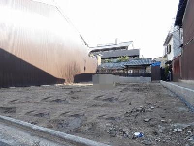 【外観】下京区西魚屋町 建築条件無し 売土地