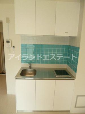 【キッチン】SOCIETY SAKURA-SHIMMACHI 独立洗面台 リノベーション済 オートロック