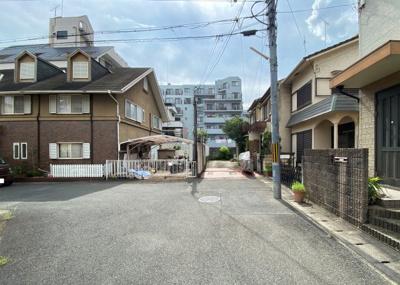 【前面道路含む現地写真】京都市伏見区桃山町泰長老