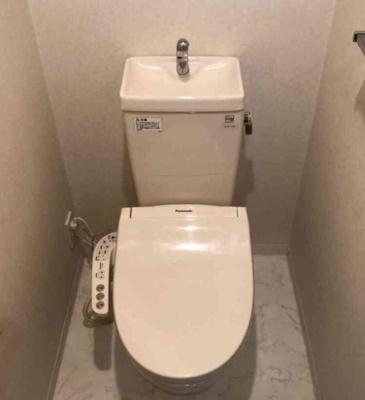 【トイレ】リクレイシア西麻布Ⅰ番館
